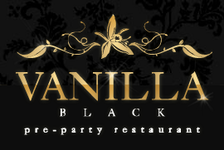 Pre-party restaurant Vanilla Black